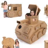 限定款遊戲屋幼兒園娃娃家DIY涂鴉紙板兒童房子玩具屋寶寶室內游戲帳篷過家家