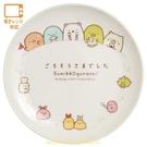 asdfkitty*日本san-x角落生物用餐時刻陶瓷圓形淺盤/沙拉盤/點心盤-日本正版商品