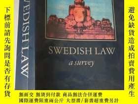 二手書博民逛書店Swedish罕見law: A survey 英文原版 . 內有