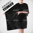 群麗綁帶式圍巾(黑色)美髮乙丙級考試[60360]