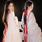 神明少女漢服有香如故超仙古裝棉麻古風影樓主題拍照寫真攝影服裝 幸福第一站