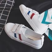 夏季新款透氣小白鞋女帆布鞋百搭韓版學生休閒淺口懶人一腳蹬