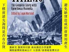 二手書博民逛書店On罕見Board the Titanic: The Complete Story with Eyewitness