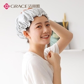 幹髮帽 2條潔麗雅雙層浴帽女防水成人洗澡頭套沐浴發套廚房防油防煙帽 母親節禮物