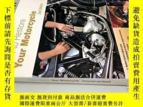 二手書博民逛書店How罕見to Restore Your Motorcycle 2nd Edition 如何恢復你的摩托車第二版奇