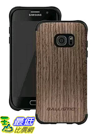 [105美國直購] Ballistic UT1689-B20N 木紋 手機殼 保護殼 Urbanite Select Ash Wood for Samsung Galaxy S7 Edge