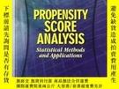 二手書博民逛書店Propensity罕見Score AnalysisY256260 Guo, Shenyang  Fraser