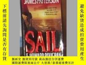 二手書博民逛書店英文原版罕見Sail by James Patterson an