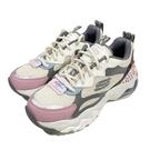 (B8) SKECHERS 女鞋D'LITES 3.0 AIR 老爹鞋 氣墊 厚底 149260NTMT豹紋粉 [陽光樂活]
