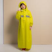 君邁雨衣,藏衫罩背背款,兒童背包太空連身式風雨衣,黃