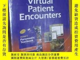 二手書博民逛書店Virtual罕見Patient Encounters for Mosby s Paramedic Textboo