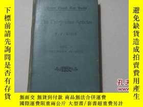 二手書博民逛書店the罕見thirty -nine articlesY8088