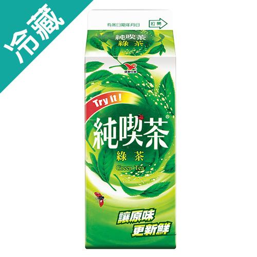 純喫茶綠茶 650ML/瓶【愛買冷藏】