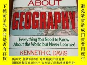 二手書博民逛書店Don t罕見Know Much About Geography