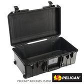 美國 PELICAN 1535 Air NF 輪座拉桿超輕氣密箱-空箱(黑) 公司貨