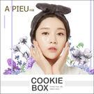 韓國 APIEU 可愛 蝴蝶結 髮帶 髮圈 柔軟 吸水 伸縮 洗臉 化妝 居家 造型 各種頭型 適用 *餅乾盒子*
