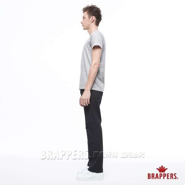 BRAPPERS 男款 HC-Cargo系列-中腰彈性直筒褲-黑
