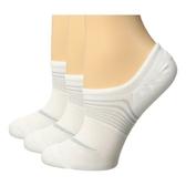 Nike耐吉- 女低切輕量3包組運動襪(白色)