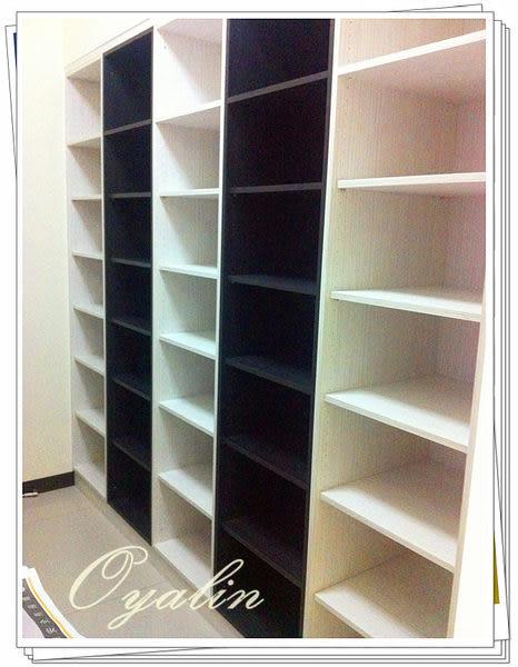 【歐雅系統家具】系統櫃 黑白系列 系統開放書櫃 系統儲物櫃 EGGER E1-V313防潮塑合板 系統櫃工廠