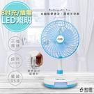 勳風充插二用8吋DC扇電風扇循環立扇(B...