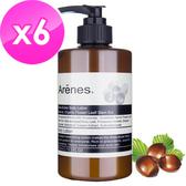 Arenes乳油木果植萃身體乳霜6入組