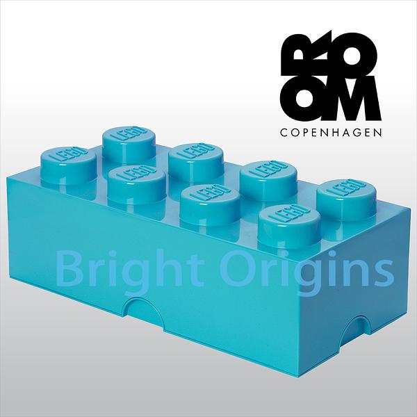 丹麥 Room Copenhagen 樂高 LEGO® 8格收納盒-天空藍(40040643)