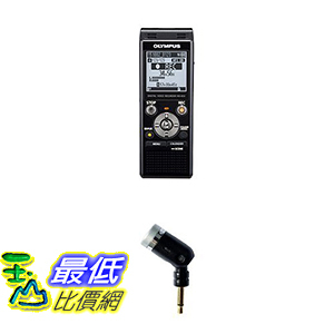 [美國直購] Olympus Digital Voice Recorder WS-853, Black 錄音機 含降噪麥克風 B0176P8VJI