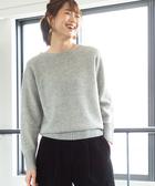 小羔羊 圓領 針織毛衣 可手洗 日本品牌【coen】
