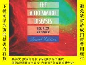 二手書博民逛書店The罕見Autoimmune Diseases, Fourth EditionY364682 Rose, N