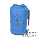【 瑞士 Exped 】CLOUDBURST 25 輕量捲收 封口防水背包25L『藍』 76861 收納袋.戶外.泛舟.游泳