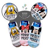 韓國迪士尼品牌襪子 米老鼠家族粗條紋 短襪