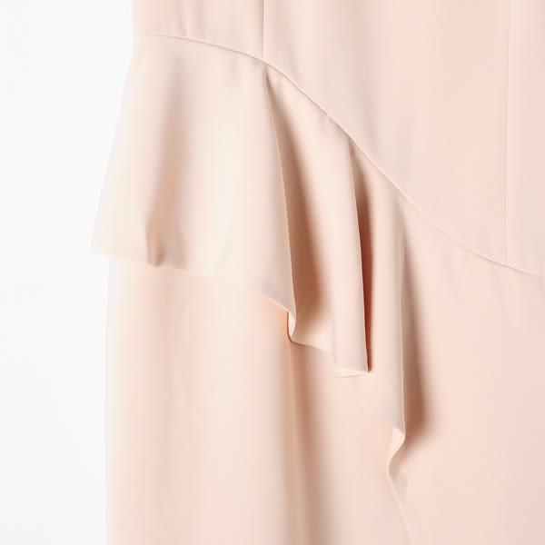【MASTINA】典雅造型洋裝-杏 好康限時