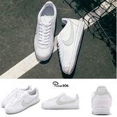 Nike 阿甘鞋 Wmns Cortez Flyleather 白 綠 淡粉綠 灰 復古慢跑鞋 全新低碳輕量材料 女鞋【PUMP306】AR4874-100