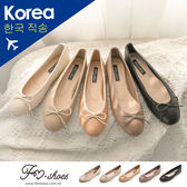 包鞋.朵結圓頭娃娃鞋-大尺碼-FM時尚美鞋-韓國精選.Subtle