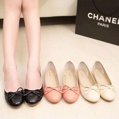 甜美芭蕾蝴蝶結平底鞋【S393】☆雙兒網☆