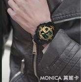 手錶 電子手錶男學生韓版潮流休閒運動戶外青年多功夜光精共工機械表 莫妮卡小屋