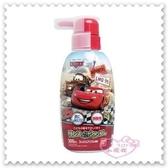 ♥小花花日本精品♥《Cars》汽車總動員 閃電麥坤 洗髮精 300ml 大人小孩適用 紅色 日本限定 (預購)