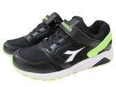 『雙惠鞋櫃』◆DIADORA迪亞多那 ◆ 大童款 流行運動慢跑鞋 ◆ (DA3960) 黑