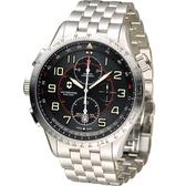 Victorinox 維氏 Airboss MACH 9 Black Edition 自動上鏈機械計時碼錶 VISA-241722
