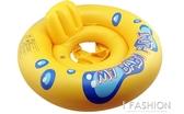 新款嬰幼兒童座圈游泳圈救生圈充氣飛機坐圈加厚加厚圈十字座-ifashion
