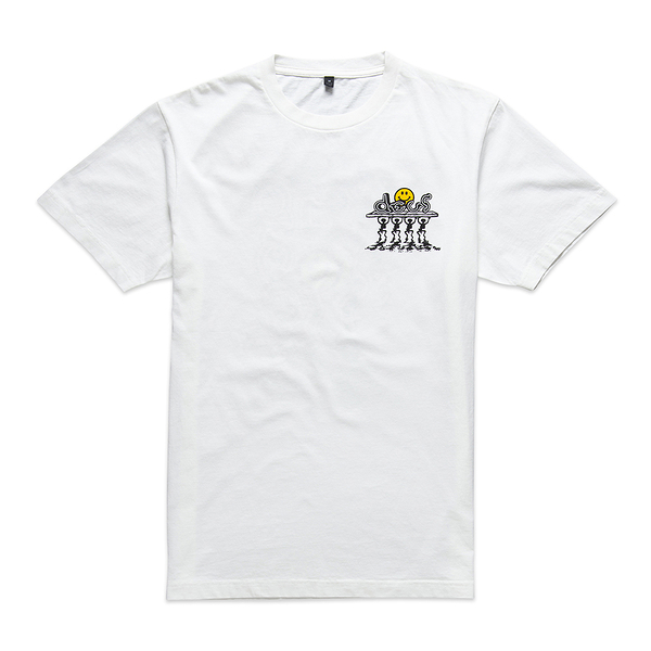 Deus Ex Machina  Bench Press Tee T恤(白)