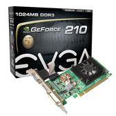 EVGA GT210 1GB DDR3 顯示卡 產品型號: 01G-P3-1312-LR