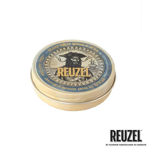 REUZEL Wood & Spice Beard Balm 保濕造型鬍鬚蠟(清新木質調) 35g (原廠公司貨)【Emily 艾美麗】