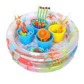 兒童釣魚玩具池套裝磁性益智Lpm1927【每日三C】