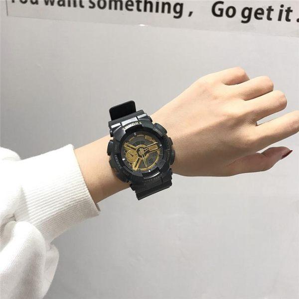 手錶ins風超火抖音電子手錶女中學生韓版簡約潮流防水休閒大氣男運動 衣間迷你屋