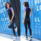 韓國健身服套裝女修身顯瘦緊身瑜伽服健身房...