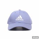 ADIDAS 男女 運動帽 BBALL CAP COT 穿搭 時尚 潮流 薰衣草紫-H34474