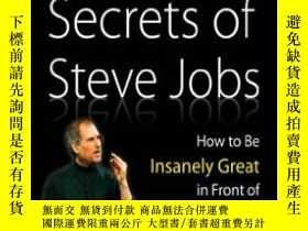 二手書博民逛書店The罕見Presentation Secrets Of Steve JobsY256260 Carmine