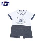 chicco-旅行無尾熊-後開短袖兔裝