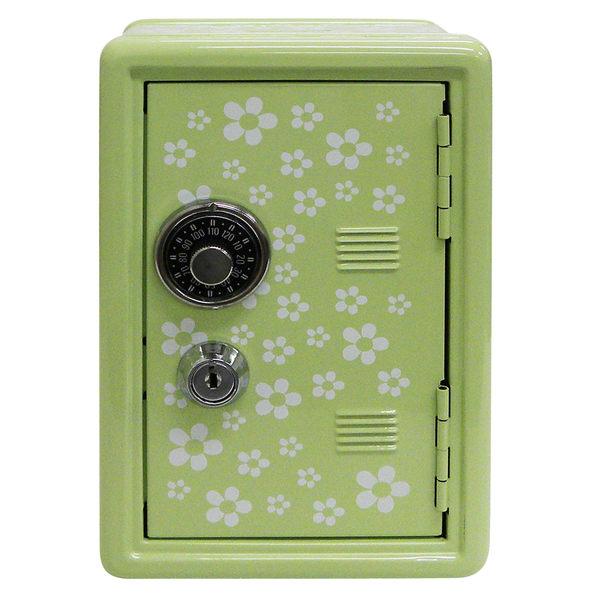 [雙手萬能]福氣旺財保險箱存錢筒-綠色